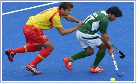 From Spain's opening game against Pakistan in the Olympic hockey tournament on July 30