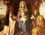 St. Therese and the Holy Family
