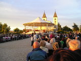 Evening Mass at Medjugorje