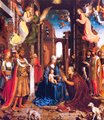 Adoration of the Magi by Mabuse, 1510