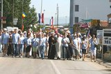 Peace March from Humac to Medjugorje