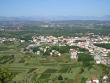 Looking at Medjugorje from Krizevac