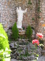 Statue of Jesus at Castle of Patrick and Nancy