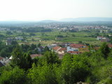 Medjugorje from the way from the Blue Cross to Podbrdo