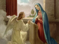 1.Joyful Mystery - The Annunciation