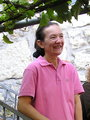 Vicka giving her testimony to pilgrims