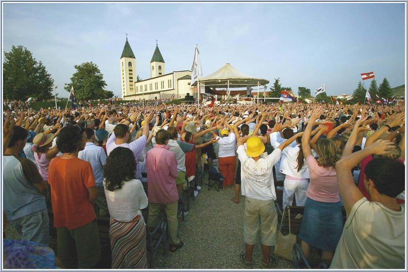 video medjugorie festival dei giovane 2006
