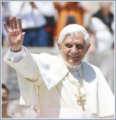 Pope Benedict Xvi Greeting