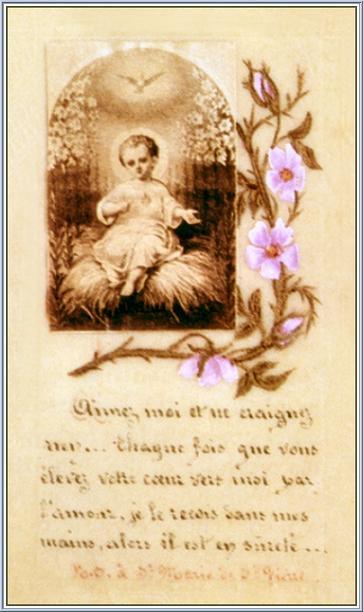Letters of Soeur Thérèse the Little Flower of Jesus - The