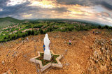 Medjugorje from top