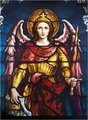 St. Michael Stain Glass Window