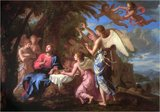 Christ Served by the Angels - JACQUES DE STELLA