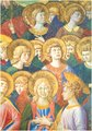 Choir of Angels GOZZOLI c.1460