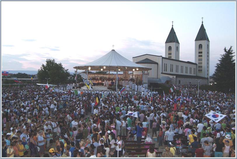 video medugorje festival dei giovane 2006