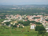View from path to Krizevac to Medjugorje
