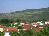 Medjugorje roofs and Podbrdo