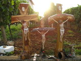 Crucifixes for sale in Medjugorje