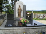 Grave of Fr. Slavko Barbaric at Cemetary Kovacica