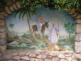 Fresco at Castle House in Medjugorje