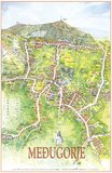Medjugorje Map 6 - Plan of Village