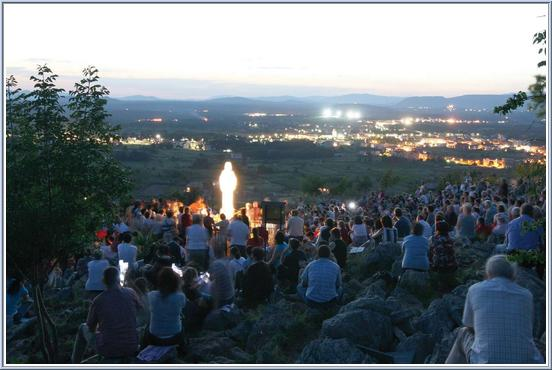 Virgin Mary of Medjugorje statue